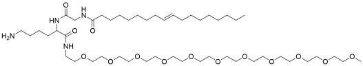 Oleoyl-Gly-Lys-(m-PEG11)-amine