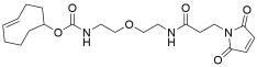 TCO-PEG1-amido maleimide