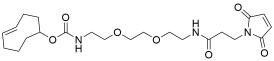 TCO-PEG2-amido maleimide