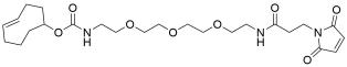 TCO-PEG3-amido maleimide