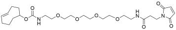 TCO-PEG4-amido maleimide