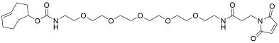 TCO-PEG5-amido maleimide