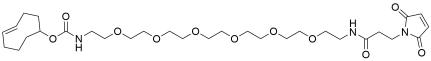 TCO-PEG6-amido maleimide