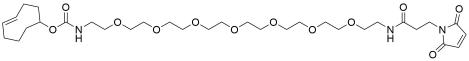 TCO-PEG7-amido maleimide
