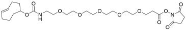 TCO-PEG5-propionic NHS ester