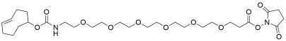 TCO-PEG6-propionic NHS ester