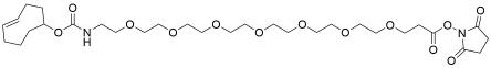 TCO-PEG7-propionic NHS ester