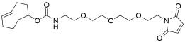 TCO-PEG3-maleimide