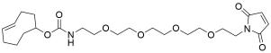 TCO-PEG4-maleimide