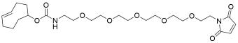 TCO-PEG5-maleimide