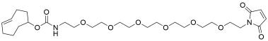 TCO-PEG6-maleimide