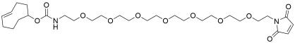 TCO-PEG7-maleimide