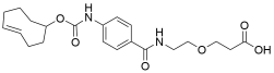 TCO-carbonylamino-benzamido-PEG1 acid