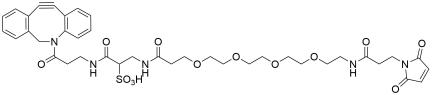 DBCO-Sulfo-PEG4-Maleimide