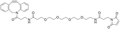 DBCO-amido-PEG4-amido-Maleimide