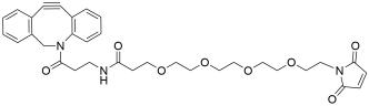 DBCO-amido-PEG4-Maleimide