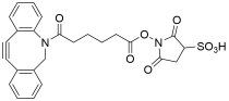 DBCO-C6-SulfoNHS ester