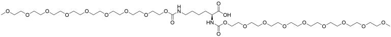 (S)-2,6-Bis-(m-PEG8)-amidohexanoic acid