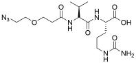 Azido-PEG1-Val-Cit-OH