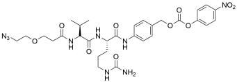 Azido-PEG1-Val-Cit-PABC-PNP