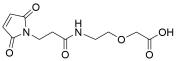 Mal-propionylamido-PEG1-acetic acid
