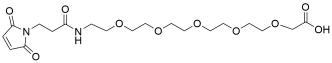 Mal-propionylamido-PEG5-acetic acid
