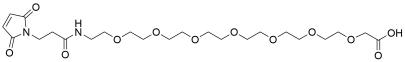 Mal-propionylamido-PEG7-acetic acid