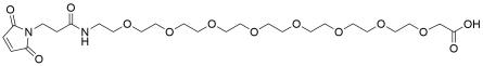 Mal-propionylamido-PEG8-acetic acid