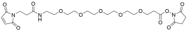 Mal-propionylamido-PEG5-NHS ester