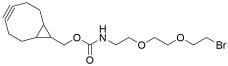 BCN-carbamate-PEG2-Bromide