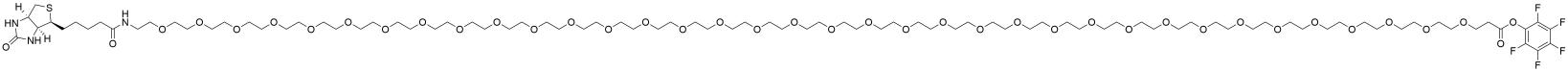 Biotin-PEG36-PFP ester