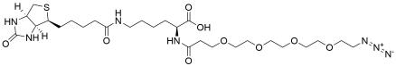 N-(Azido-PEG4)-biocytin