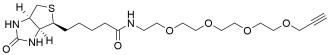 Biotin-PEG4-alkyne