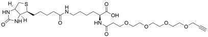 N-(Propargyl-PEG4)-biocytin