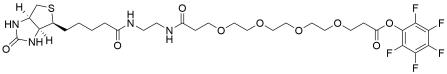 Biotin-EDA-PEG4-PFP