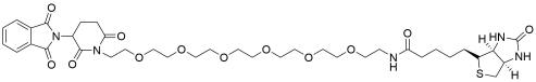 D-Biotin-PEG6-Thalidomide