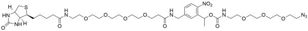 PC-Biotin-PEG4-PEG3-azide