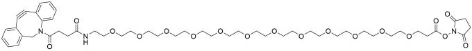 DBCO-PEG12-NHS ester