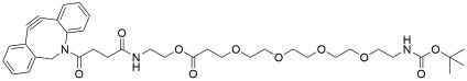 DBCO-C2-PEG4-NH-Boc