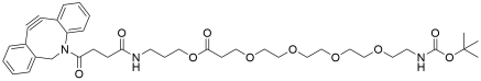 DBCO-C3-PEG4-NH-Boc