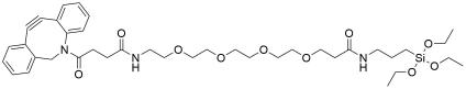 DBCO-PEG4-triethoxysilane