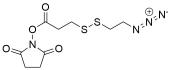 Azidoethyl-SS-propionic NHS ester