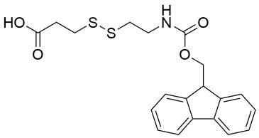 Fmoc-NH-ethyl-SS-propionic acid