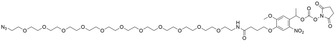 PC Azido-PEG11-NHS carbonate ester