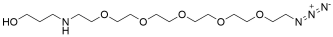 3-(Azido-PEG5-amino)propanol