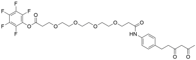 Diketone-PEG4-PFP ester