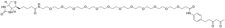 Diketone-PEG12-Biotin