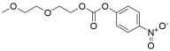 m-PEG3-4-nitrophenyl carbonate
