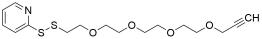 (2-pyridyldithio)-PEG4-propargyl