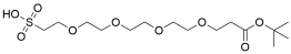 t-Butoxycarbonyl-PEG4-sulfonic acid